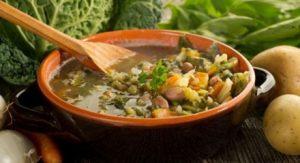 zuppa per dieta invernale