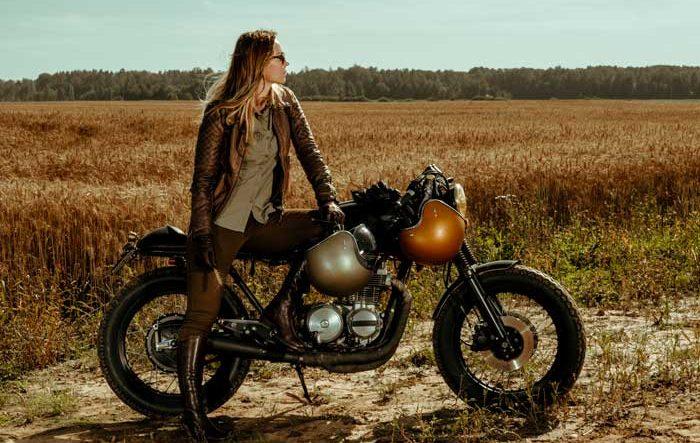 caschi da moto vintage