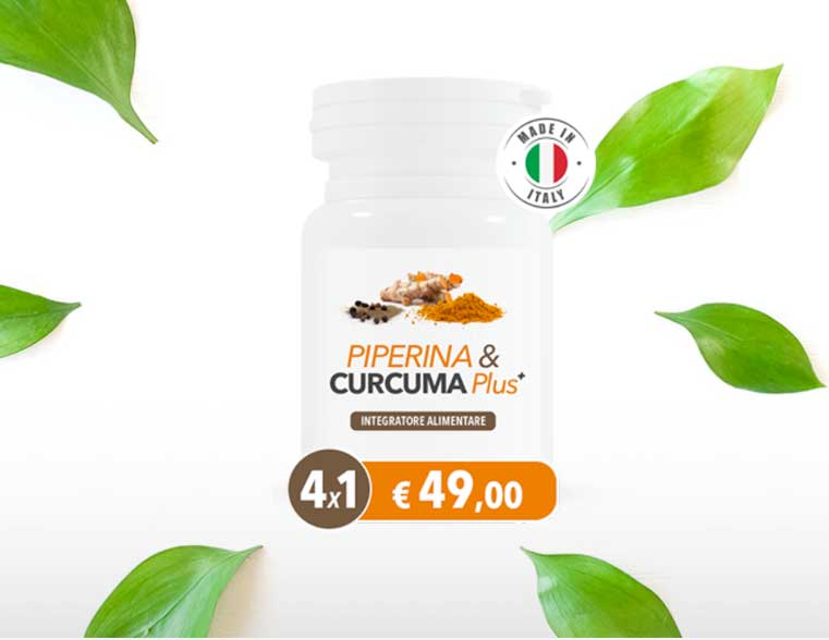 piperina e curcuma plus integratore