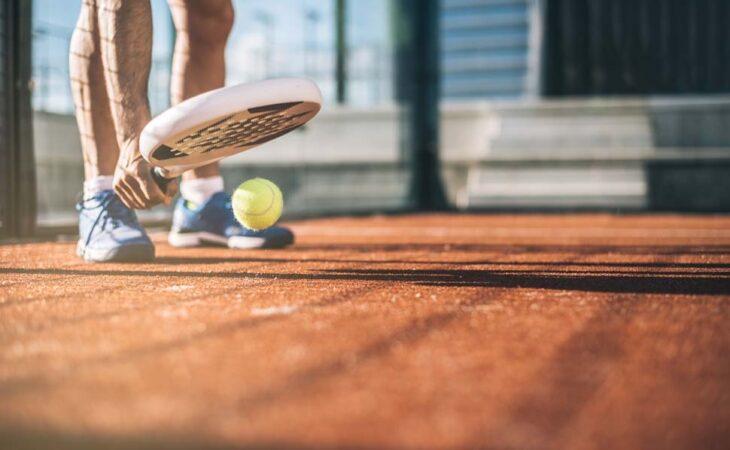 attrezzatura da padel tennis
